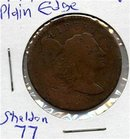 1795 US Liberty Cap Large Cent PE S-77 Fine Trends1250