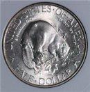 USA Half Dollar 1/2$ Silber 1936 Albany NY Biber STLG