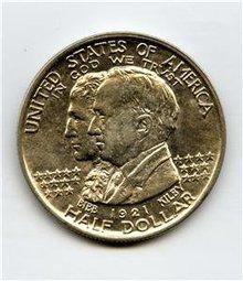 USA Half Dollar 1/2$ Silber 1921 Alabama STEMPELGLANZ