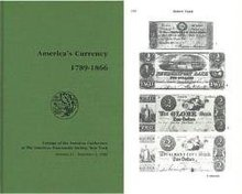 NEW 1985 America's Currency 1789 to 1866