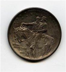 1925 US Stone Mountain Commemorative Half $ Gem BU tone