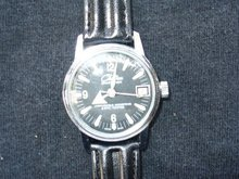 Vintage Mens Chateau Sportsman Swiss Mechanical RUNS