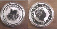 2003 Australia Lunar Year GOAT Series 1 Silver 1oz BU