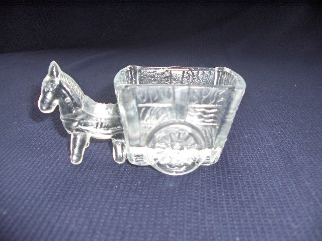 Glass Novelty Toothpick Holder