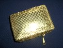 Gold Mesh Cigarette Case