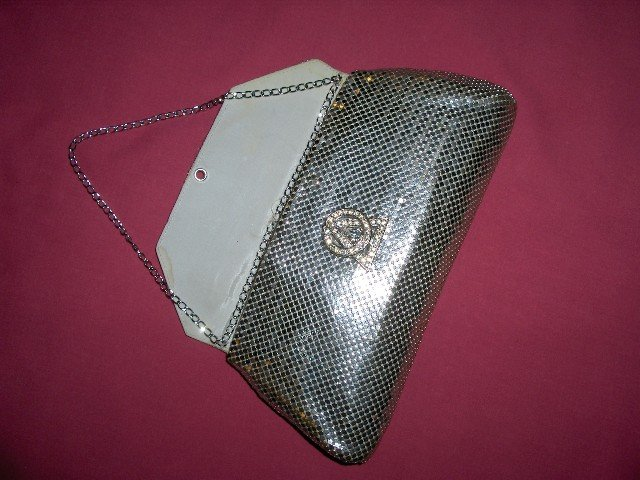 1930's WHITING&DAVIS Mesh Evening Handbag