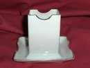 White Porcelain Match Holder-Ashtray