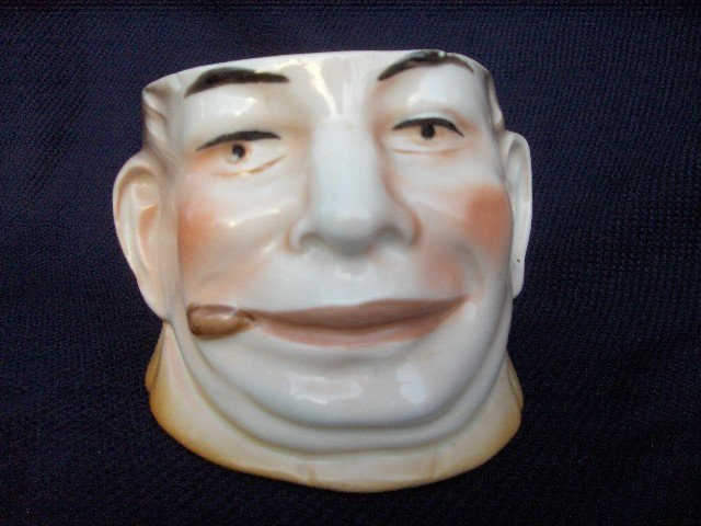 Porcelian Tobacco Jar-No Lid