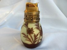 Evans Cameo Style Glass Table Lighter