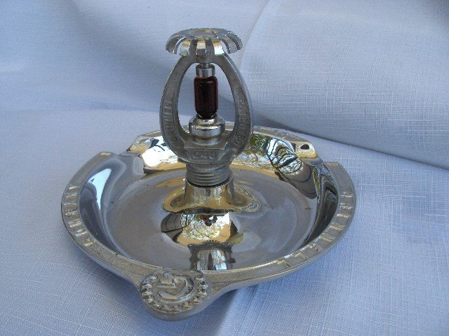 GRINNELL SPRAY SPRINKLER ASHTRAY