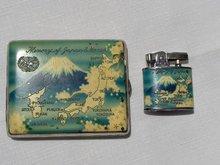 Memory of Japan & Korea  Lighter & Case