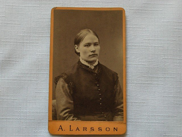 CDV Portrait of a  Young Woman