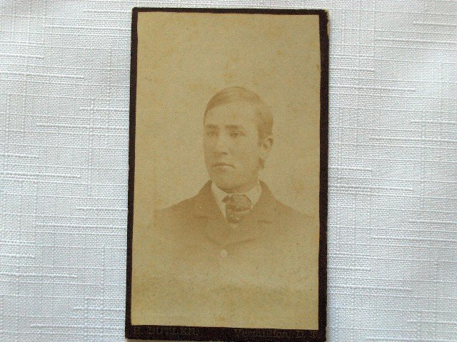 CDV Portrait of a Young Man