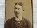 CDV Portrait of a Young Man with a Mustache