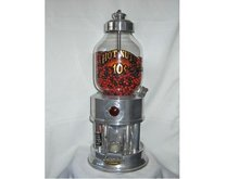 Coin Operated Hot Nut Machine, Pull Chain