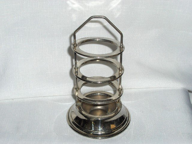 Art Deco Stacking Ashtrays