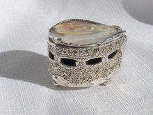 Silver MOP  Box