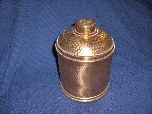Copper Hammered Humidor