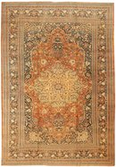 Antique Tabriz Haji Jalili Rug