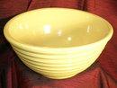 Yellow Ware mixing bowl