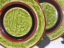 Choisy Le-Roi Majolica Plates (pair)