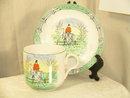 Burleigh Cup and Saucer