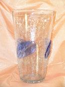 Large Leaf Vase by Blenko