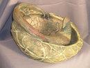 Amphora Ringed Pheasant on Nest