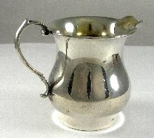 Weidlich Sterling Spoon Company Sterling Silver Creamer 3-1/4