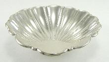 """Gorham Sterling Silver 5"""" Sea Shell Footed Nut Dish #10"""