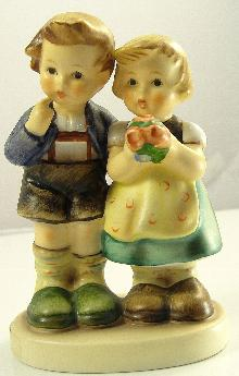 Authentic Hummel Goebel WE CONGRATULATE 220 Trademark TMK-7 Figurine 4