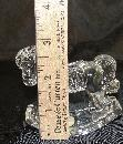 Crystal Princess House Rocking Horse Figurine Germany 3