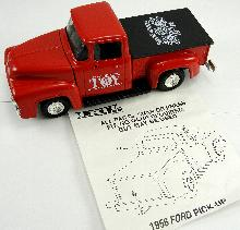 ERTL National Toy Connection 1956 Ford Pick-Up Truck Bank Original Box 7-5/8