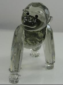 Swarovski Crystal SCS 2009 Gorilla Cub Endangered Species Collection MIB Retired