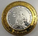Aladdin Limited Edition Gaming Token Sterling Silver Casino
