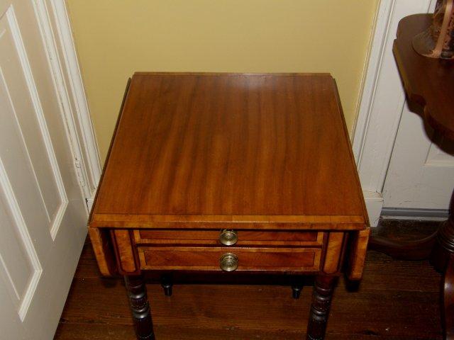 Two Drawer Pembroke Table