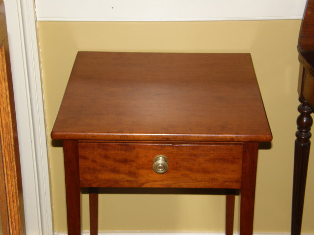 Cherry One Drawer End Table