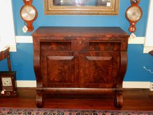 Mahogany Empire Sideboard or Server