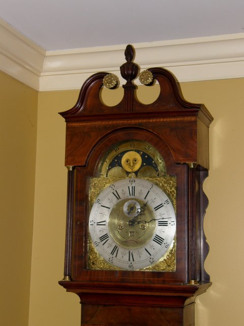 Mahogany Grandfather or Tall Case Clock