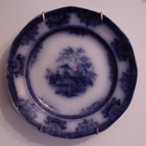 Flow Blue Plate
