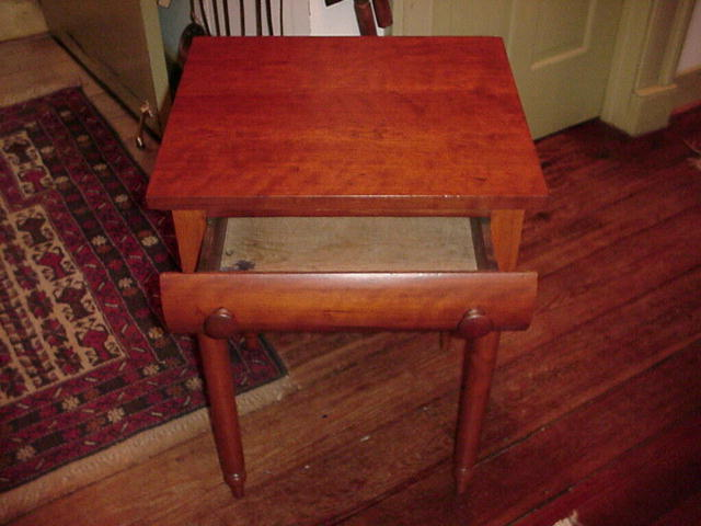 One Drawer End Table