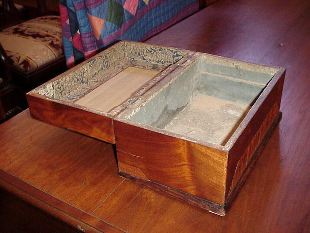 Mahogany and Tiger Maple Box