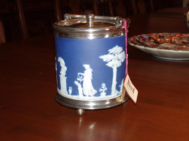 Wedgewood Biscuit Jar