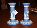 Wedgewood Candle Sticks