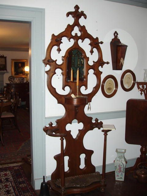 Victorian Walnut Hall Piece