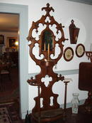 Victorian Walnut Hall Piece
