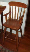 Plank Seat High Chair