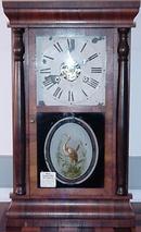 Rosewood Mantle Clock