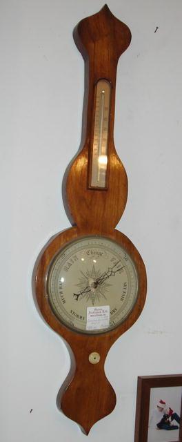 Rosewood Barometer