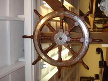 Oak ship wheel